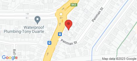 Location map for 186 Bridges Road New Lambton