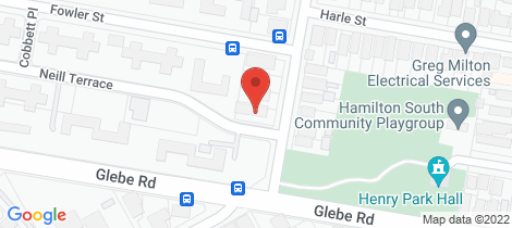 Location map for 6/270 Beaumont Street Hamilton South