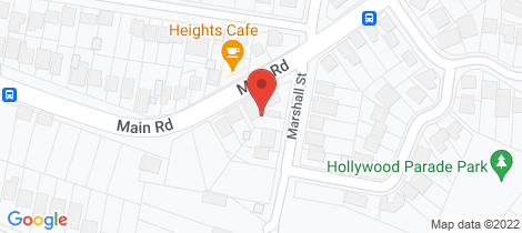 Location map for 4 Main Road Cardiff Heights