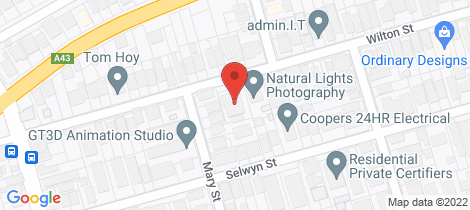 Location map for 5/52 Wilton Street Merewether