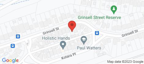 Location map for 113 Grinsell Street Kotara
