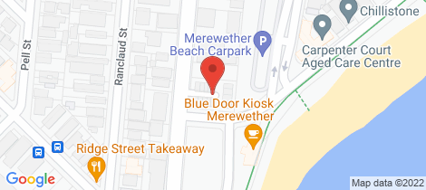 Location map for 4/82 Frederick Street Merewether