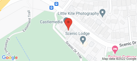 Location map for 255 Scenic Drive Merewether Heights