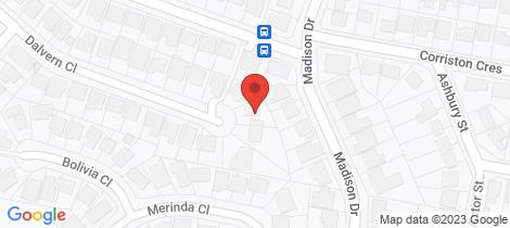 Location map for 32 Dalvern Street Adamstown Heights