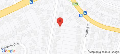 Location map for 8 Jennifer Street Charlestown