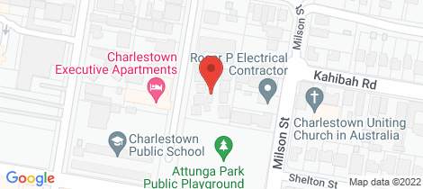 Location map for 4/42-46 Dickinson Street Charlestown