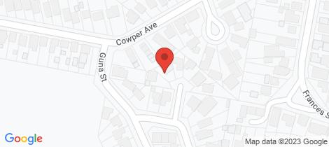 Location map for 3 Orana Close Kahibah
