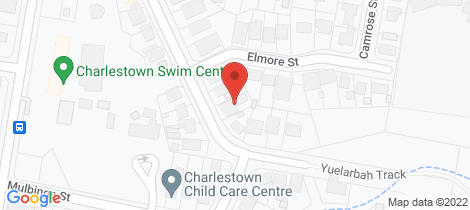 Location map for 44 Milson St Charlestown
