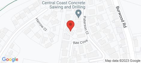 Location map for 4 Rae Cove Whitebridge