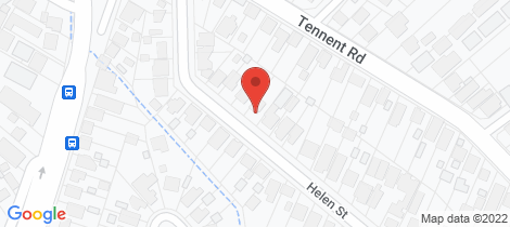 Location map for 12 Helen Street Mount Hutton
