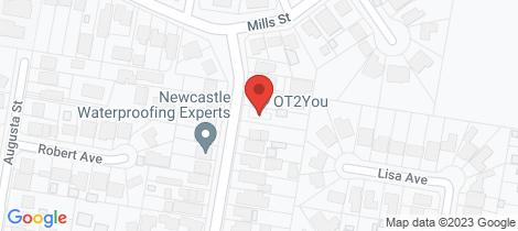 Location map for 6 Jonathan Street Warners Bay