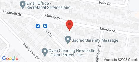 Location map for 6 Murray Street Eleebana