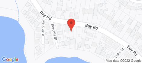 Location map for 65 Bay Road Bolton Point