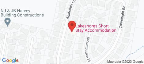 Location map for 12 Agincourt Crescent Valentine