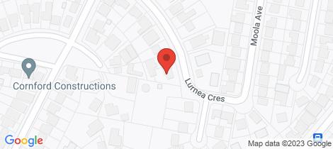 Location map for 2 Lurnea Crescent Valentine