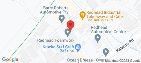 Location map for 12/31 Kalaroo Road Redhead