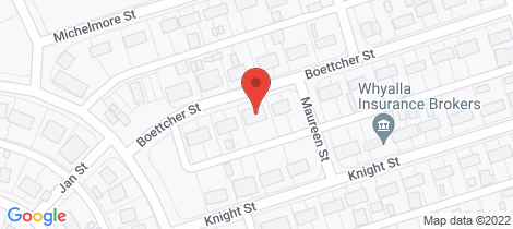 Location map for 33-35 BOETTCHER STREET Whyalla Stuart