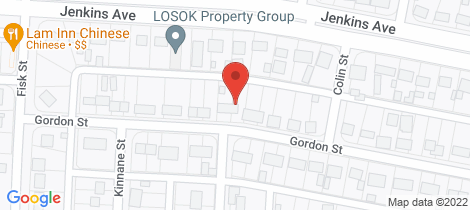 Location map for 50 GORDON STREET Whyalla Norrie