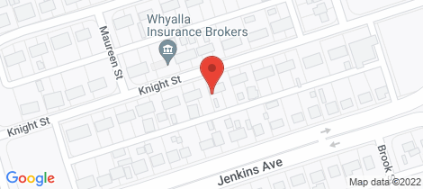 Location map for 27 KNIGHT STREET Whyalla Stuart