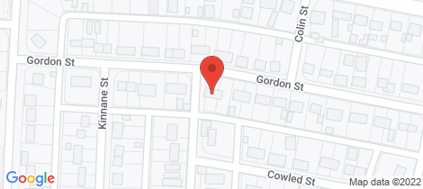 Location map for 47 GORDON STREET Whyalla Norrie