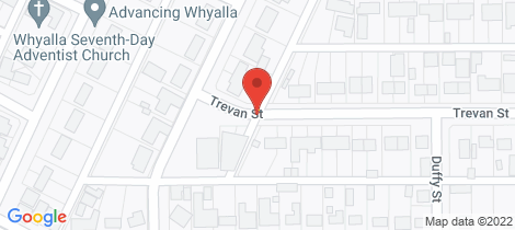 Location map for 45 TREVAN STREET Whyalla Norrie