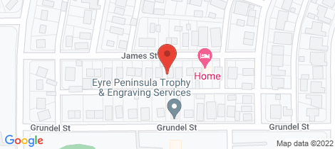 Location map for 11 JAMES STREET Whyalla Norrie