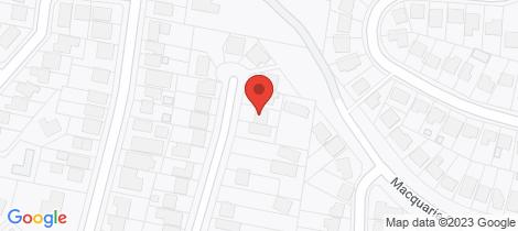 Location map for 10 Haig Street Belmont