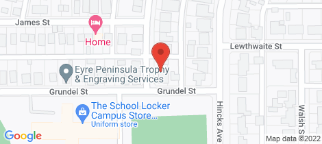Location map for 4 GRUNDEL STREET Whyalla Norrie