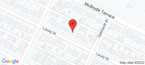 Location map for 61 LACEY STREET Whyalla