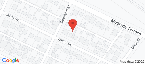 Location map for 52 LACEY STREET Whyalla