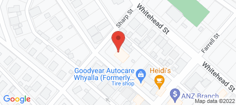 Location map for 28-30 FORSYTH STREET Whyalla
