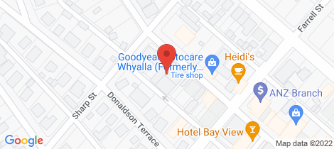Location map for 21-23 FORSYTH STREET Whyalla