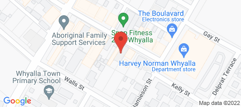 Location map for 37-41 PATTERSON STREET Whyalla