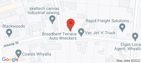 Location map for 231 - 232 JACOBS STREET Whyalla Norrie