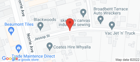 Location map for Lot Sec 328/5 JESSOP STREET Whyalla Norrie