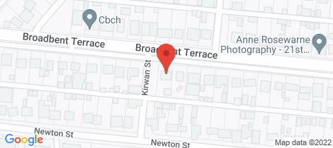 Location map for 93 BROADBENT TERRACE Whyalla