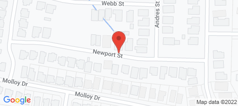 Location map for 13A Newport Street Orange