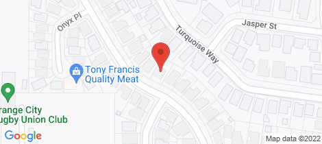Location map for 56 Diamond Drive Orange