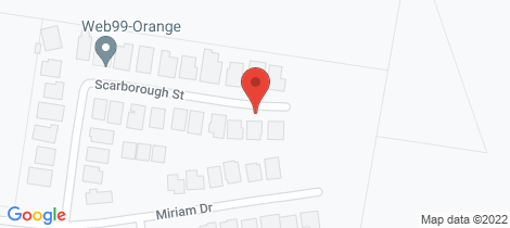 Location map for 26 Scarborough Street Orange