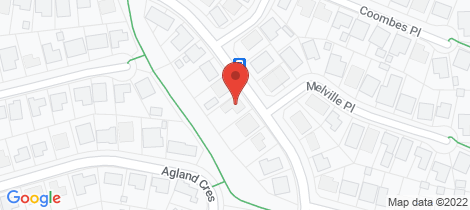 Location map for 451 Anson Street Orange