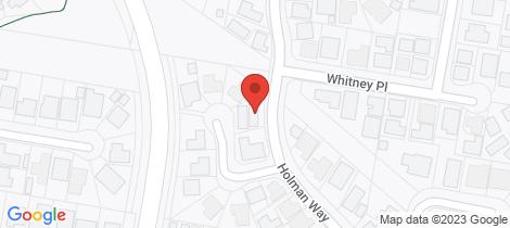 Location map for 19 Holman Way Orange