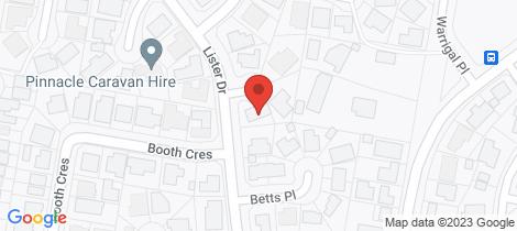 Location map for 4 Tom Close Orange