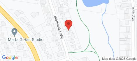 Location map for 22 Northstoke Way Orange