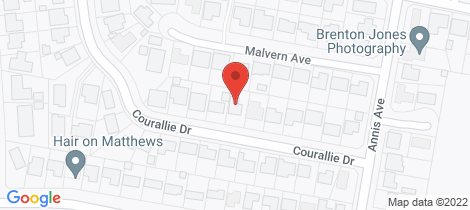 Location map for 14 Courallie Drive Orange