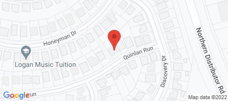 Location map for 10 Quinlan Run Orange