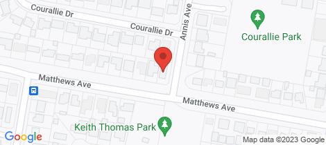 Location map for 35 Matthews Avenue Orange