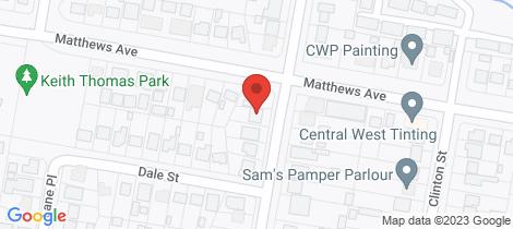 Location map for 17 Kearneys Drive Orange