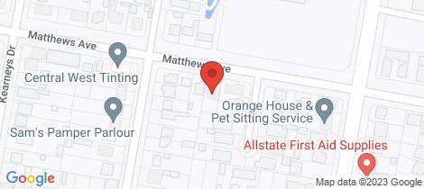 Location map for 70 Matthews Avenue Orange
