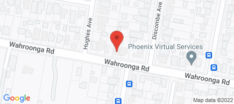 Location map for 41 Wahroonga Road Kanwal