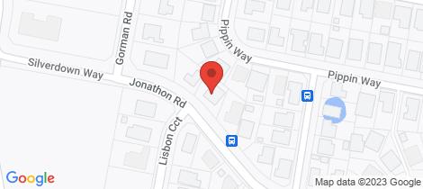 Location map for 52 Jonathon Road Orange